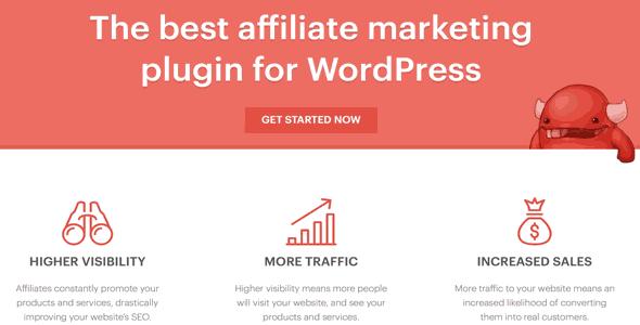 AffiliateWP افزونه همكاری در فروش وردپرس Affiliate WordPress