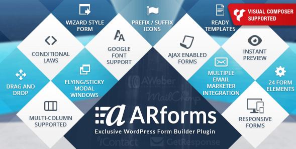 ARForms Plugin WordPress