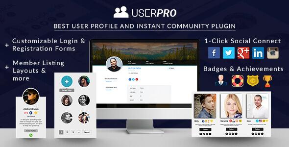 یوزر پرو UserPro فارسی افزونه عضویت حرفه ای وردپرس